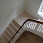 Nyt gulv og ny trappe på Sjælland